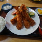 31237346 - エビフライ定食 1200円