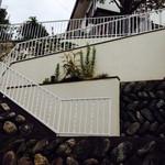 cafe sakura - 玄関までの階段