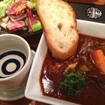 牛たん炭焼き 利久 - でもって、今夜もタンシチュー食べちゃいます( ^ ^ )/■