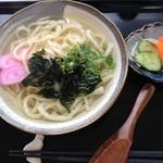 ごんぐり亭 - 料理写真:魚うどん(単品)