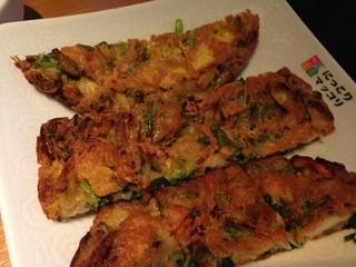 にっこりマッコリ 西武池袋店 - 海鮮チヂミ(小)