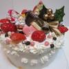 Atelier la hana - 料理写真:クリスマスケーキw¥2300@'13.12.下旬