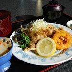 レストラン きらり - 平日の定食は550円です