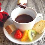 レストラン きらり - 09年のバレンタインにはチョコフォンデュがでました