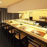 寿司 櫓 - カウンター