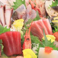 寿司 櫓 - 刺身の盛り合わせ (ご予算、お好みなどお気軽にご注文ください)