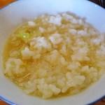 麺'sクラブ - スープかけご飯