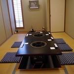 笠庄 - 個室もあります
