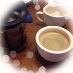 トマト&オニオン - 食後のコーヒー♡アールグレイ紅茶♡