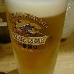 とん吉 食左衛門 - ドリンク写真:生ビール