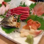 新寿司 - お造り6点盛り