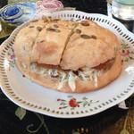 31254063 - くるみパンのメンチカツサンド ¥500