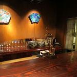 野口太郎 - 照明の落ちたカウンターにJAZZが流れる大人の店