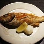 魚菜家 - のど黒・塩焼き=日本海の人気者