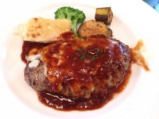 クワトロ - 【New!】ハンバーグステーキ