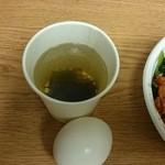 31256598 - サービスのスープ・温泉玉子