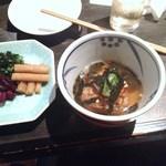 魚菜家 - 秋刀魚の焼きむすび茶漬け
