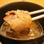 皐月庵 - 中華つけ麺(チャーシュー)