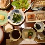 Nihonryourisetouchi - 和定食(朝食)