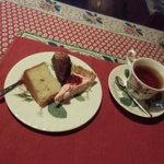 カフェ・ド・ラ ぺ - ケーキセット