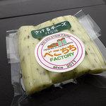 べこちちファクトリー - さけるチーズバジル432円