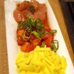 玉屋 - 鶏、トマト、チーズ