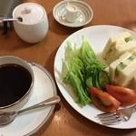 杉本珈琲店 - サンドイッチセット 820円