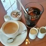 パスタランテ - セットのホット&アイスコーヒー
