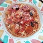 31260475 - トマトとナスのスパゲティ 840円
