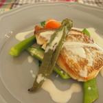 カフェ ポーズ - メイン魚料理