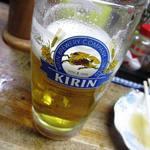 ナカジマ酒店 - 生ビール390円