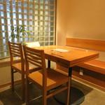 蕎麦 案山子 - テーブル席 (2014/09)