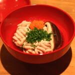 蕎麦 案山子 - 雲子 ポン酢 (2014/09)