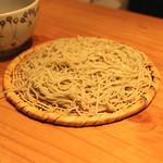 蕎麦 案山子 - 鴨汁蕎麦の蕎麦 (2014/09)