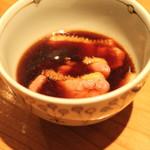 蕎麦 案山子 - 鴨汁蕎麦のつけ汁 (2014/09)