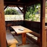 沖縄セレクトショップ&カフェ 美ら・琉 - テラス席