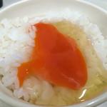 鴨錦 - 龍の卵がけご飯♥︎