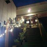 ランプ - 店へ上がる階段