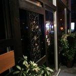 ランプ - 店の入り口