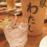 焼き鳥 駅 - 芋焼酎