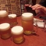 31273686 - 生ビール500円、生ビール小300円