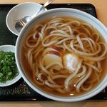 讃岐 飩庵 - 温玉月見うどん・大盛(600円)