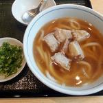 讃岐 飩庵 - かすうどん(850円)