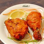 インディアンレストラン シャンティ - 料理写真:タンドーリチキン(2ピース) Tandoori Chicken