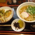 ウエスト 狭山富士見店 - 鶏天丼セット 680円
