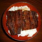 はせべ - うなぎ丼(松)(2700円)