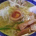 俺のイケ麺 - 塩ワンタン