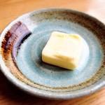らーめん みそ膳 - トッピング☆バター