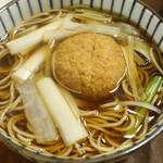 そば所 よし田 - コロッケ蕎麦