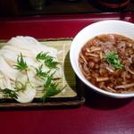 活麺富蔵 - 和牛なめこつけ麺(H26.10.2)